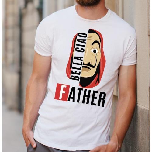 T-shirt oversize Najlepszy tata w galaktyce