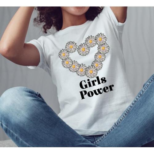 Koszulka Girl Power