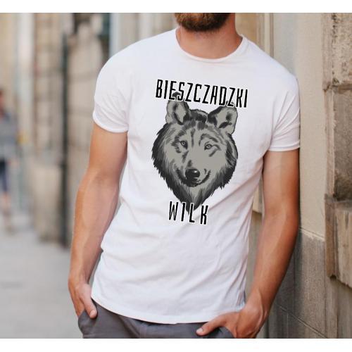 Koszulka Bieszczadzki wilk