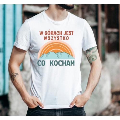 T-shirt oversize DTG Bieszczady Bieszczady