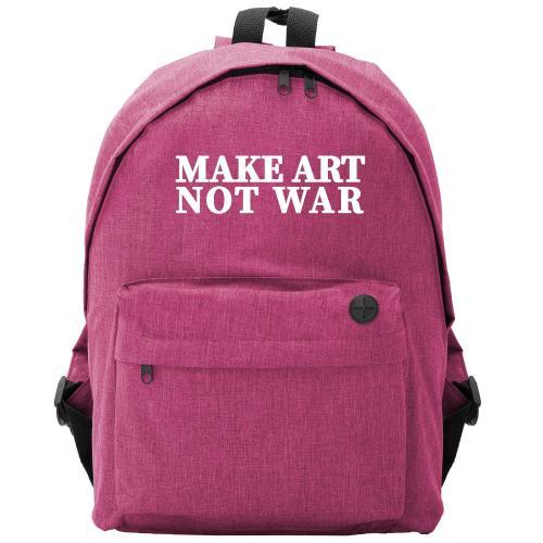 Plecak owal Make Art Not War