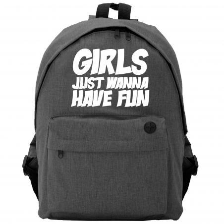 Plecak owal Girls just wanna have fun