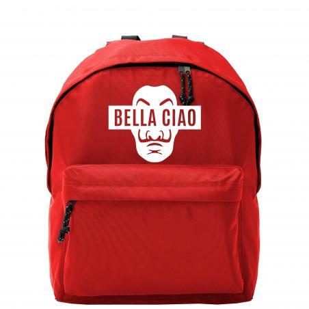 Plecak owal big Bella ciao maska