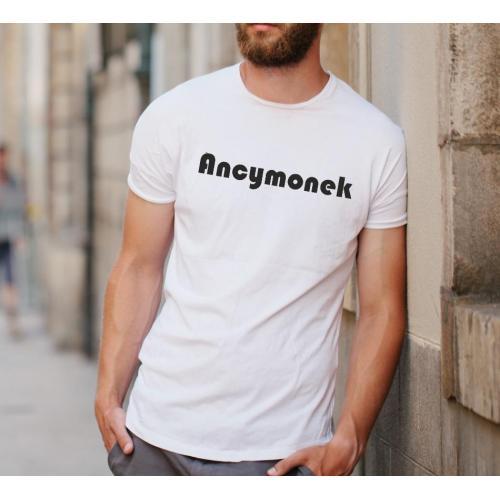 T-shirt oversize biały Lajdos