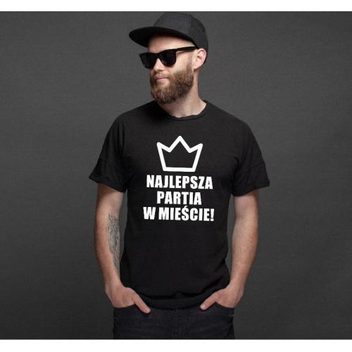 T-shirt oversize Duży łobuz