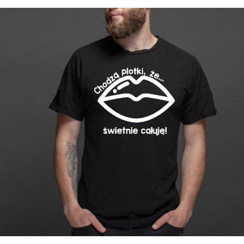 T-shirt oversize Najlepsza partia w mieście