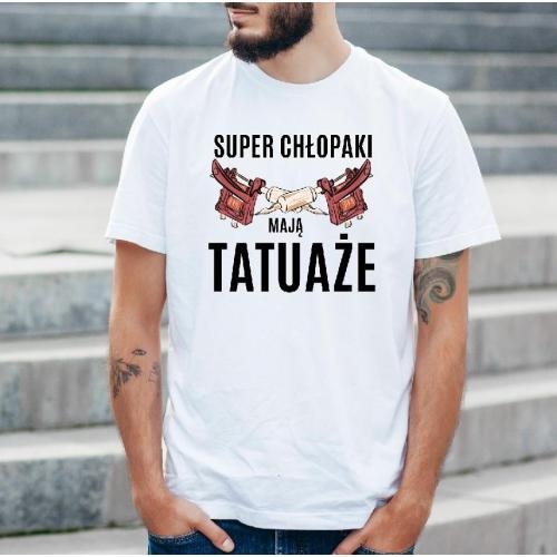 T-shirt oversize DTG Dzień dobry cześć i czołem