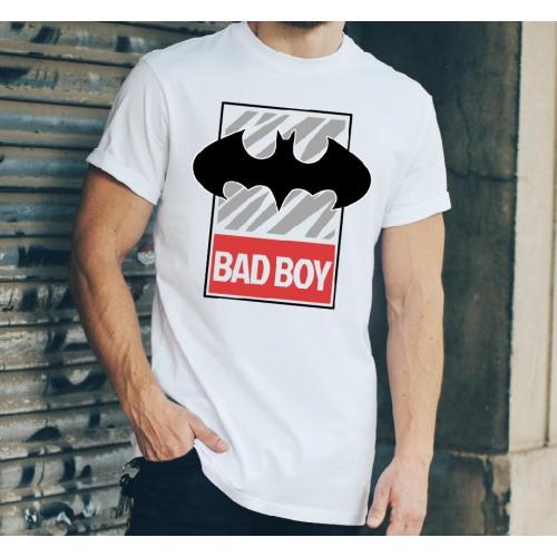 T-shirt oversize DTG Super chłopaki mają tatuaże