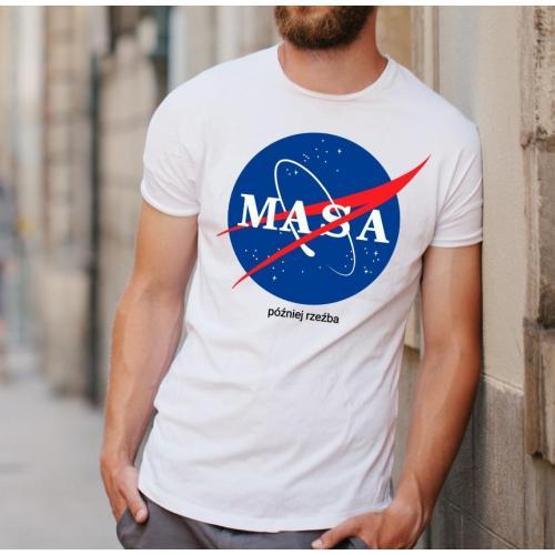 t-shirt masa później rzeźba