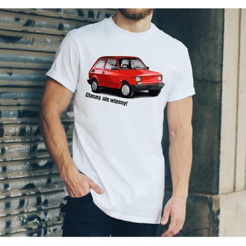 T-shirt oversize DTG Sasiedzi