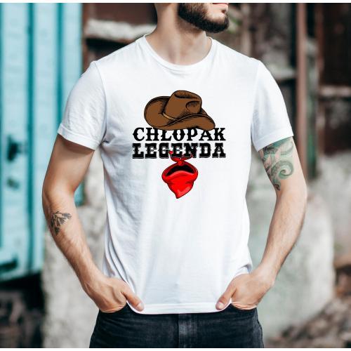 T-shirt oversize DTG Chłopak legenda 2