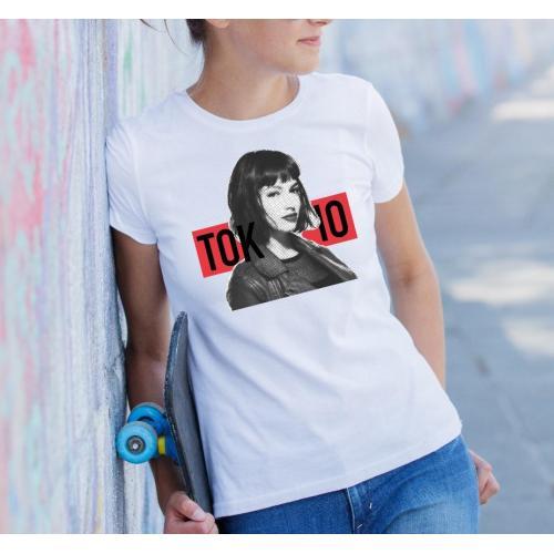 t-shirt tokio la casa de papel