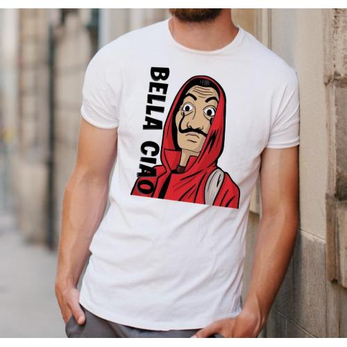 T-shirt oversize DTG Bella ciao 3