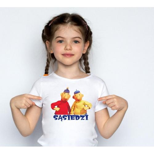 T-shirt kids Sasiedzi 3