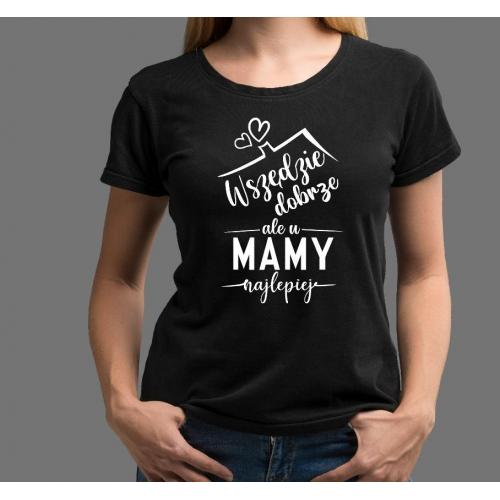 T-shirt lady CZARNA Friends 6