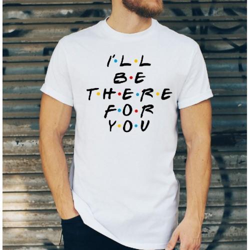 T-shirt oversize DTG friends 2