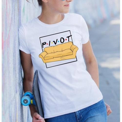 T-shirt lady slim DTG pivot