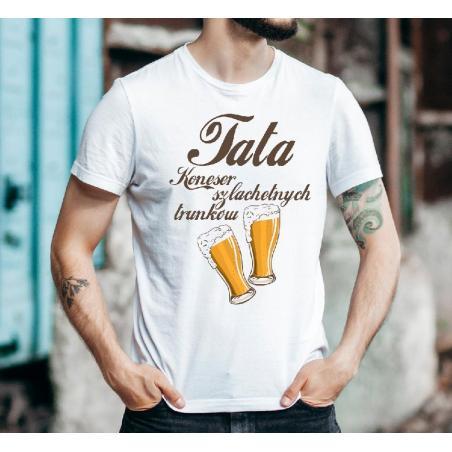 T-shirt oversize Tata szef rodzinna mafia