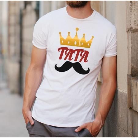 T-shirt oversize Tata koneser szlachetnych trunków