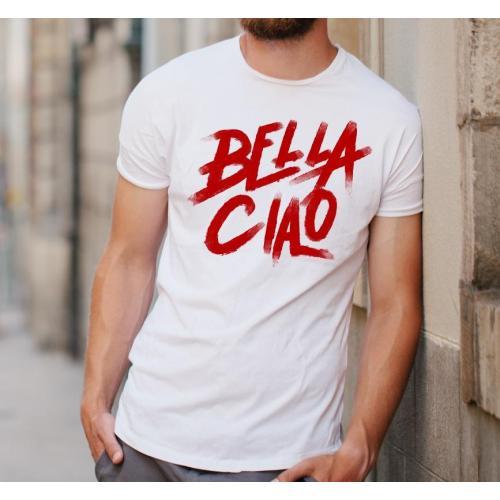 T-shirt oversize DTG Bella ciao BLACK