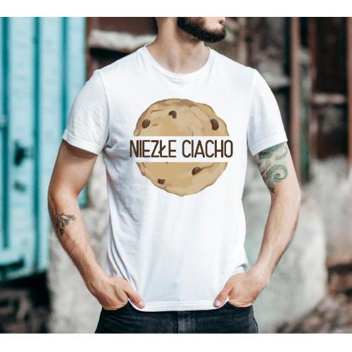 T-shirt oversize DTG boski chłopak