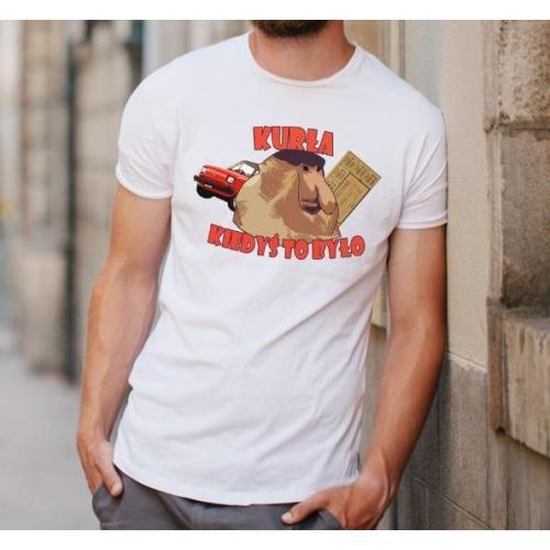T-shirt oversize DTG kurła