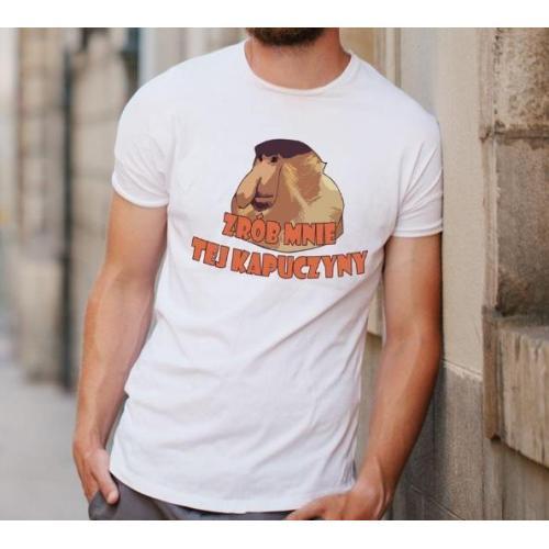 T-shirt oversize DTG Janusz- kurde kiedys to było PRL