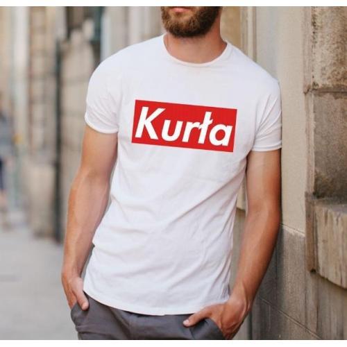 T-shirt oversize DTG BHP myj się po pracy PRL
