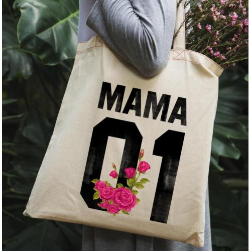 Torba bawełniana Najlepsza mama folk