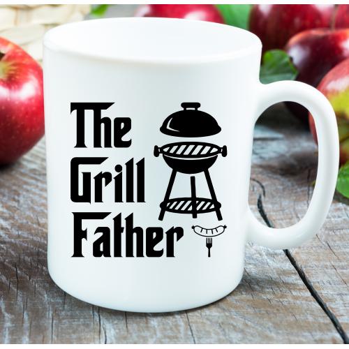 Kubek z nadrukiem GRILL FATHER