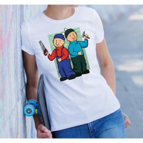 T-shirt lady slim DTG  PATMAT