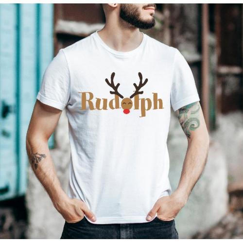 T-shirt oversize DTG Sweet Christmas