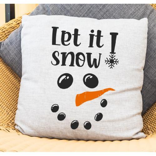 PODUSZKA druk Let it snow...