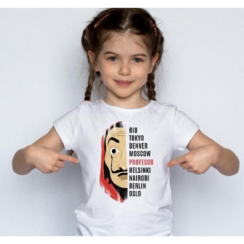 T-shirt kids El profesor