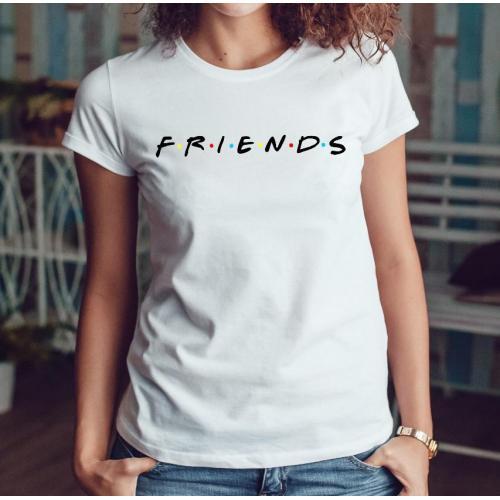 T-shirt lady slim DTG  Kocham góry