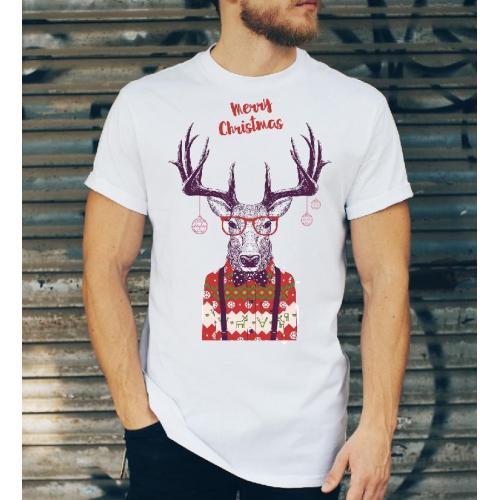 T-shirt oversize DTG Rudolph