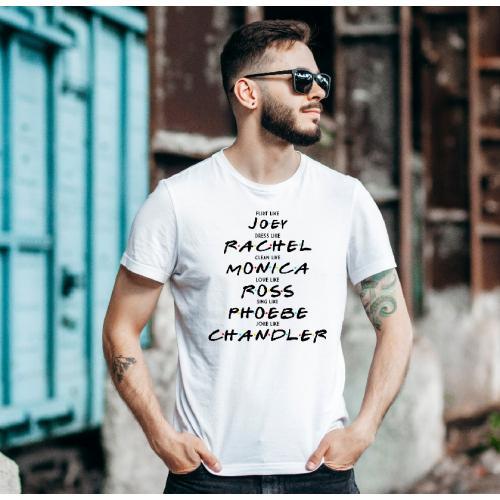 T-shirt oversize Friends...