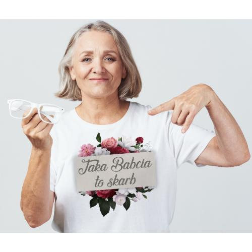 T-shirt lady Taka Babcia To...