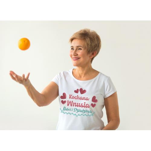 T-shirt lady Kochana Wnusia...