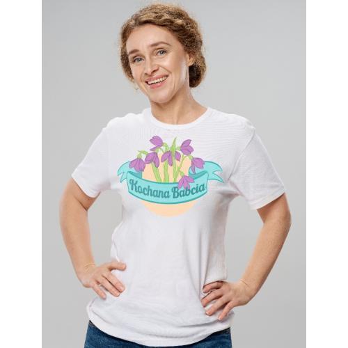 T-shirt lady Kochana Babcia...