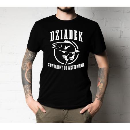 T-shirt oversize Stworzony do wędkowania
