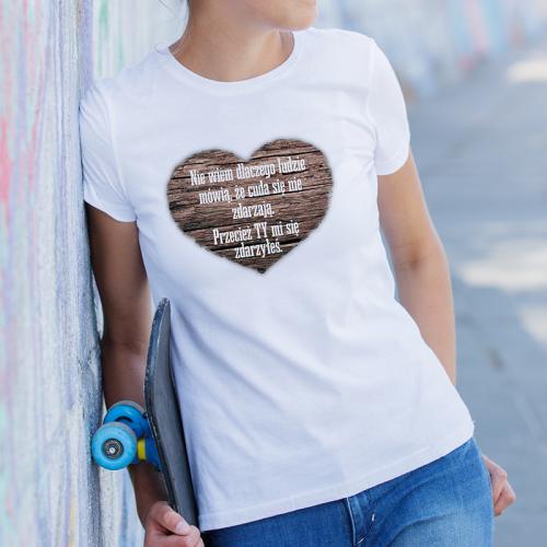 T-shirt lady slim DTG Ty mi...