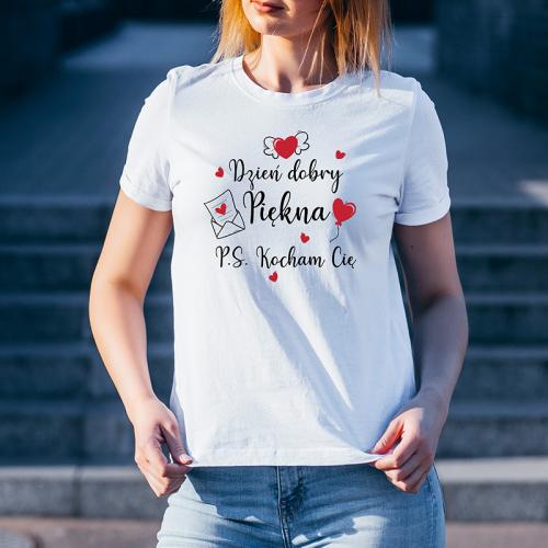 T-shirt lady slim DTG Dzień...