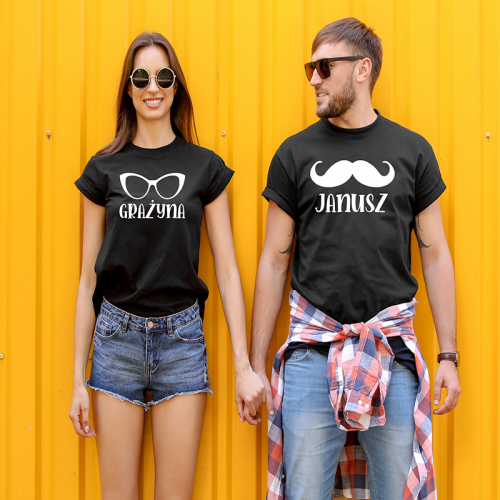 T-shirty dla par...