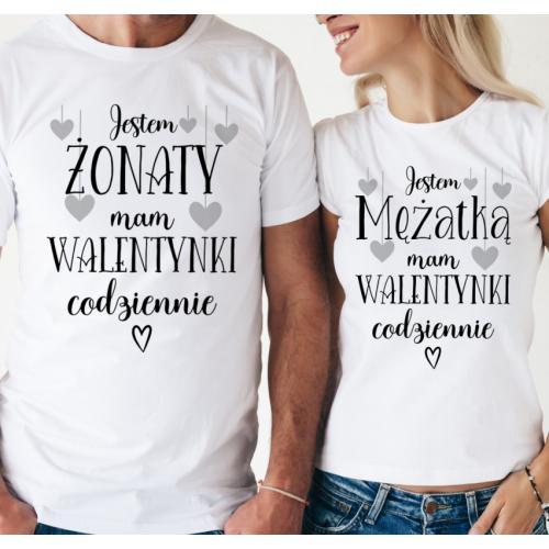 T-shirty dla par Mam...