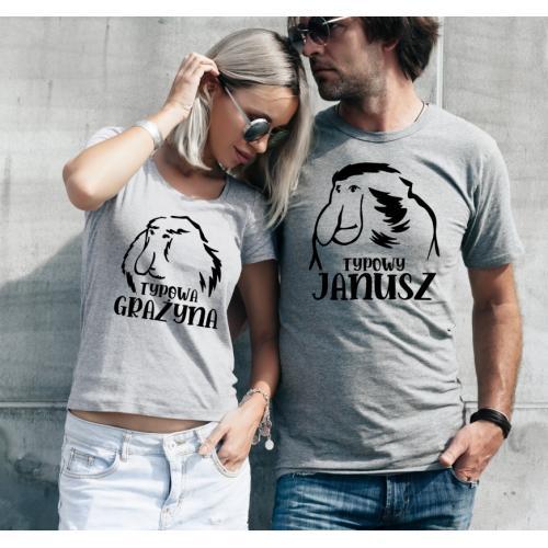 T-shirty dla par Typowa...