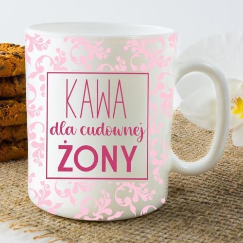 Kubek - Kawa dla cudownej Żony