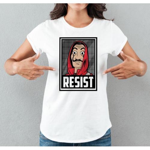 koszulka resist la casa de papel