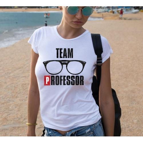 T-shirt lady slim DTG  bella ciao black