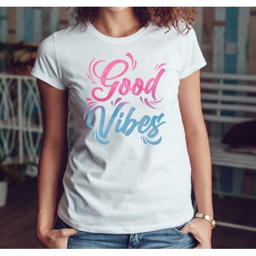 T-shirt lady slim DTG Good...